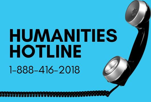 humanities hotline phone number and phone