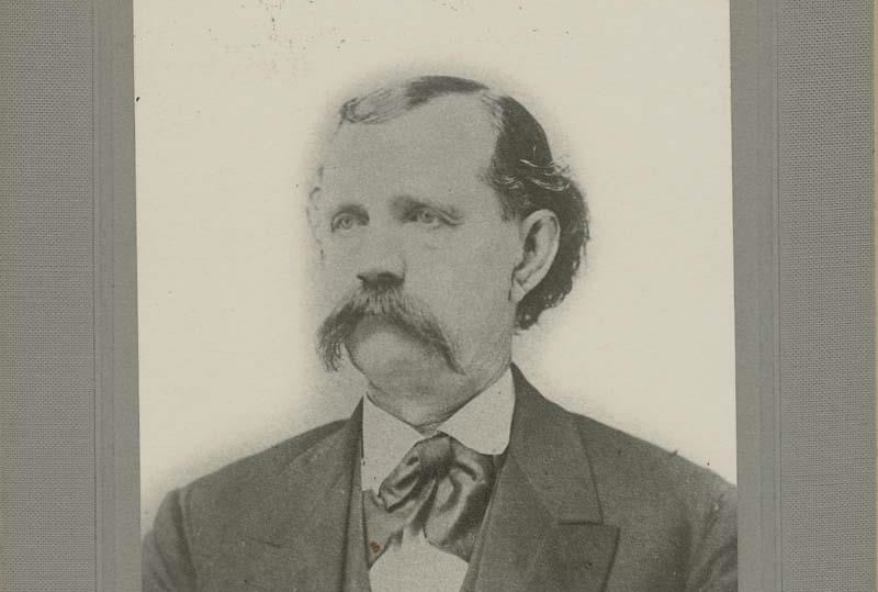 A photographed portrait of Robert McBratney, date unknown.