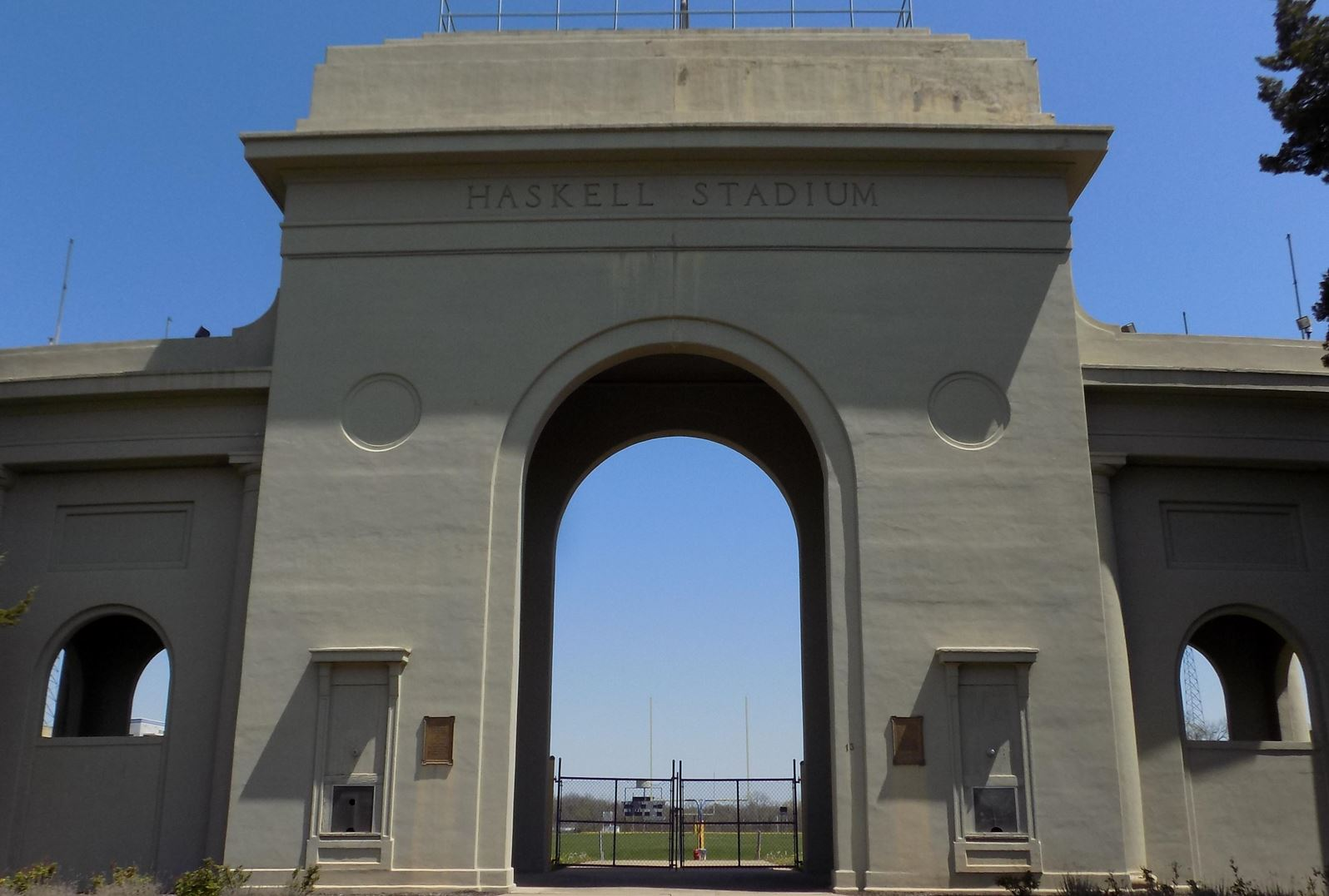 Haskell Memorial Arch