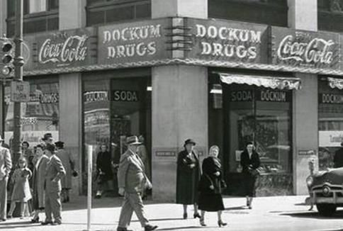 Dockum Drugs, Wichita, 1950s
