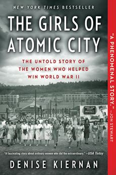 Book cover of the The Girls of Atomic City